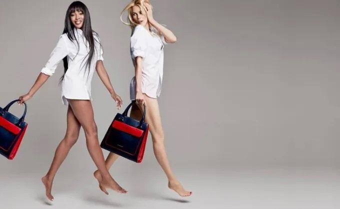 Η Naomi Campbell και η Claudia Schiffer…
